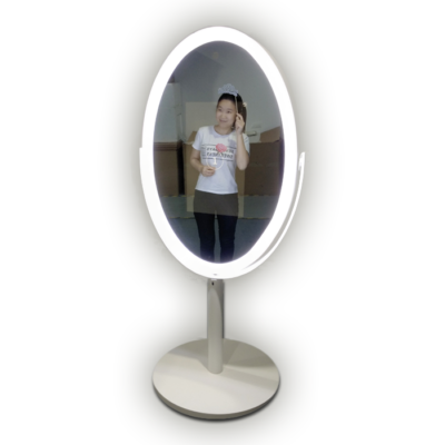 Oval Selfie Mirror Hire Surrey, Sussex, Kent & London