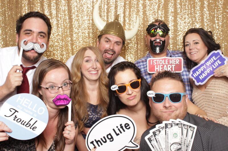 Birthday Party in Brighton using a selfie Pod.