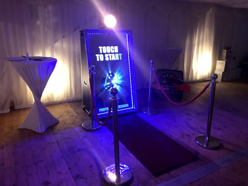 Photo Booth for a Christmas Party in Bromley