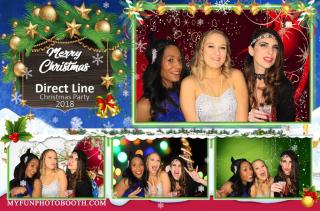 Christmas Photo Booth Print Template