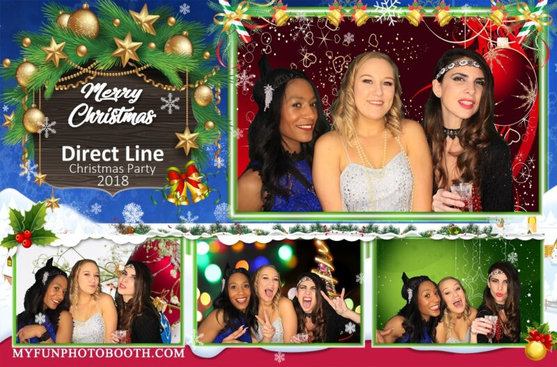 Christmas Photo Booth Print Template