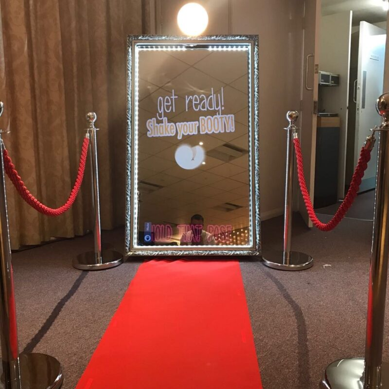 Bromley Magic Mirror with red carpet