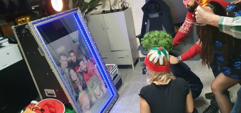 Photo Booth hire in London for a birthday