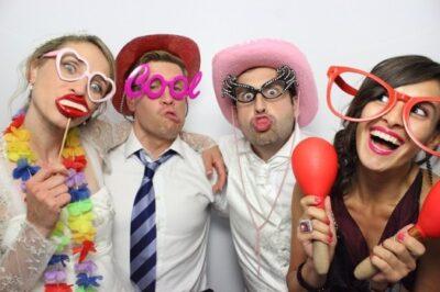 Birthday Photo Booth fun in Crawley